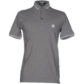 《セール開催中》DOLCE & GABBANA メンズ ポロシャツ グレー 44 100% コットン