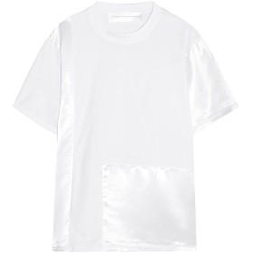 《セール開催中》VICTORIA, VICTORIA BECKHAM レディース T シャツ ホワイト S コットン 100% / レーヨン