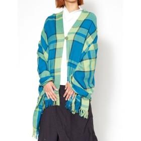 [マルイ] 【カヤ】弁慶格子色織りケープ/チャイハネ(CAYHANE)