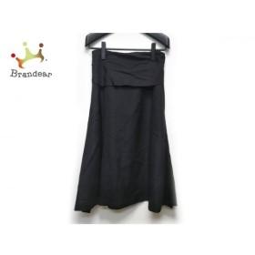 トゥービーシック TO BE CHIC ロングスカート サイズ40 M レディース 美品 黒 新着 20191112