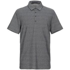 《セール開催中》DRYKORN メンズ ポロシャツ ブラック XL コットン 50% / ポリエステル 50%