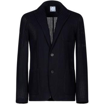 《セール開催中》ALTEA メンズ テーラードジャケット ダークブルー L コットン 100%