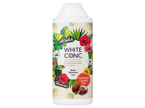 WHITE CONC 美白身體沐浴露 360ML  夏威夷果香