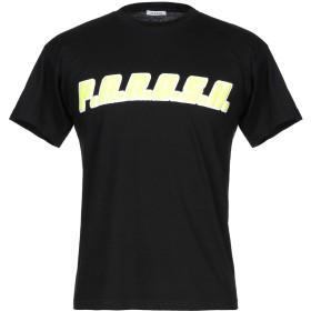 《セール開催中》P.A.R.O.S.H. メンズ T シャツ ブラック S コットン 100%