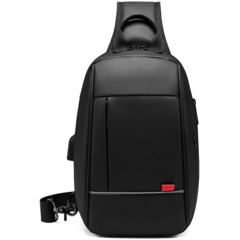 TUKIS ボディバッグ ワンショルダーバッグ 斜めがけ 軽量 防水 大容量 メンズ レディース iPad収納可能 左右肩掛け可能マッサージ機能
