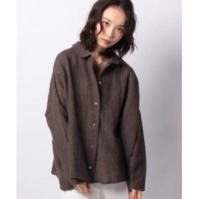 マーコート box shirt レディース BROWN f 【MARcourt】