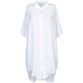 《セール開催中》CROSSLEY レディース シャツ ホワイト XS レーヨン 100%