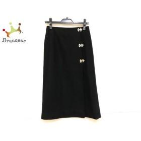 セリーヌ CELINE 巻きスカート サイズ36 S レディース 美品 黒 新着 20191112