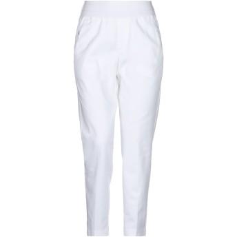 《セール開催中》EUROPEAN CULTURE レディース パンツ ホワイト XS コットン 98% / ポリウレタン 2%