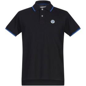 《セール開催中》NORTH SAILS メンズ ポロシャツ ブラック S コットン 100%