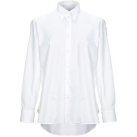 《セール開催中》CARUSO メンズ シャツ ホワイト 41 コットン 100%