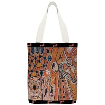 砂漠の土地布団カバー読者のための再利用可能な洗える100%エコフレンドリーなトートバッグ、および愛好家旅行バッグ、ショッピングバッグ