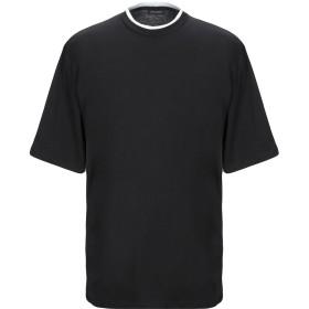 《セール開催中》YES LONDON メンズ T シャツ ブラック M コットン 100%