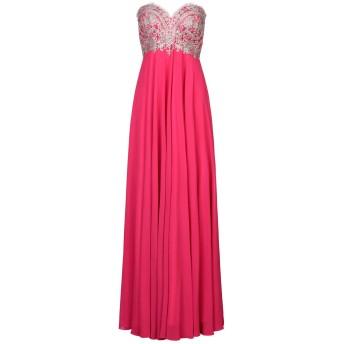《セール開催中》MUSANI COUTURE レディース ロングワンピース&ドレス フューシャ 44 ポリエステル 100%