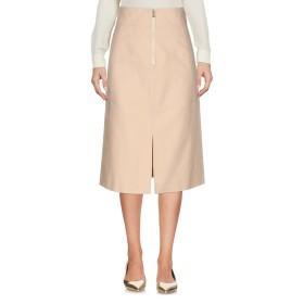 《セール開催中》TWINSET レディース ひざ丈スカート ベージュ 42 コットン 100%