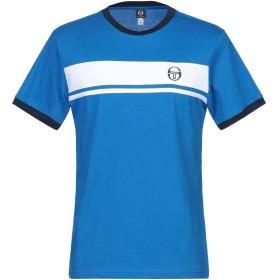 《セール開催中》SERGIO TACCHINI メンズ T シャツ ブルー L コットン 100%