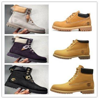 美國好市多 代購 正品 Timberland 10061 大黃靴 踢不爛 真皮防水 登山鞋 經典基本款 情侶款運動鞋
