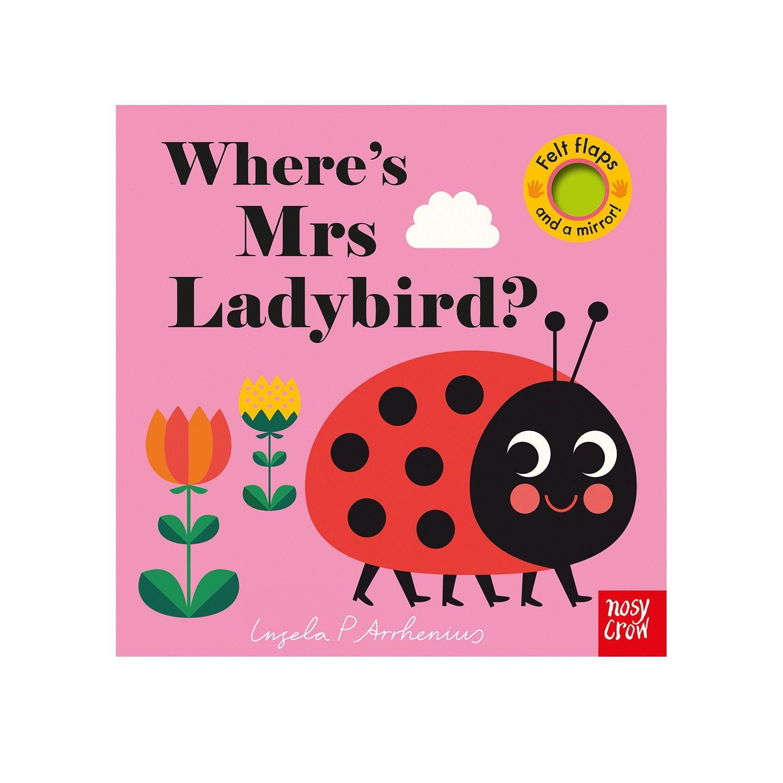 不織布翻翻書-Where's Mrs Ladybird?