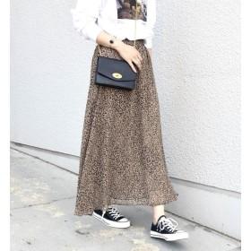 【シップス/SHIPS】 Khaju:プリントギャザースカート