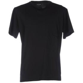 《セール開催中》LETASCA メンズ T シャツ ブラック L コットン 100%
