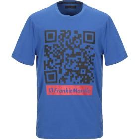 《セール開催中》FRANKIE MORELLO メンズ T シャツ ブルー S コットン 95% / ポリウレタン 5%
