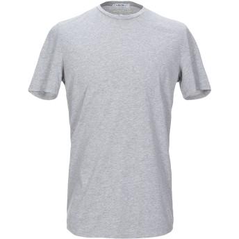 《セール開催中》TANOMU ASK ME メンズ T シャツ グレー S コットン 100%