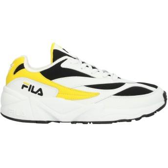 《セール開催中》FILA メンズ スニーカー&テニスシューズ(ローカット) ホワイト 8 紡績繊維