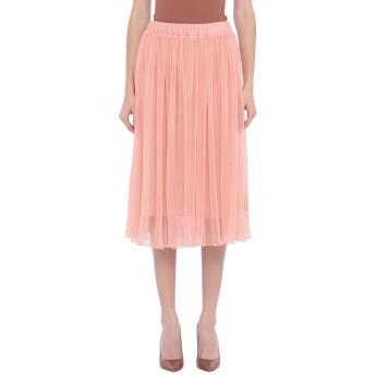 《セール開催中》BAUM UND PFERDGARTEN レディース 7分丈スカート サーモンピンク 38 ポリエステル 100%