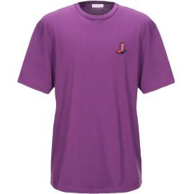 《セール開催中》CALVIN KLEIN メンズ T シャツ パープル XL コットン 100%