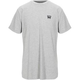 《セール開催中》WRANGLER メンズ T シャツ ライトグレー XL コットン 90% / レーヨン 10%
