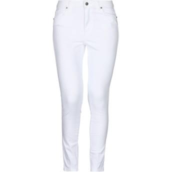 《セール開催中》GALLE Paris レディース パンツ ホワイト 25 コットン 98% / ポリウレタン 2%