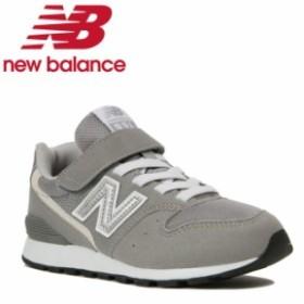 ニューバランス ジュニアシューズ ジュニア YV996 YV996CGY new balance キッズシューズ キッズ グレー run