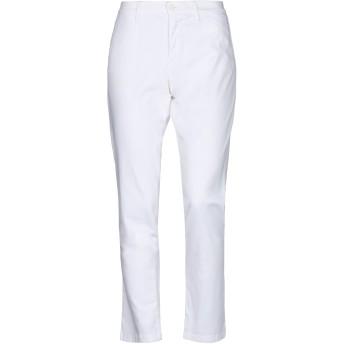 《セール開催中》BLAUER レディース パンツ ホワイト 25 コットン 97% / ポリウレタン 3%