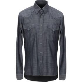 《セール開催中》AT.P.CO メンズ シャツ スチールグレー 41 コットン 100%