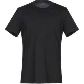 《セール開催中》YES LONDON メンズ T シャツ ブラック S コットン 100% / ポリウレタン