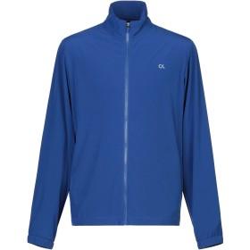 《セール開催中》CALVIN KLEIN PERFORMANCE メンズ スウェットシャツ ブルー M ポリエステル 85% / ポリウレタン 15%