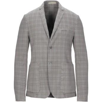《セール開催中》HAVANA & CO. メンズ テーラードジャケット グレー 46 コットン 80% / ポリエステル 17% / ポリウレタン 3%