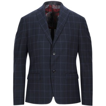 《セール開催中》ALESSANDRO DELL'ACQUA メンズ テーラードジャケット ダークブルー 46 ポリエステル 85% / レーヨン 13% / 指定外繊維(その他伸縮性繊維) 2%