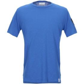 《セール開催中》BERNA メンズ T シャツ ブルー S コットン 100%