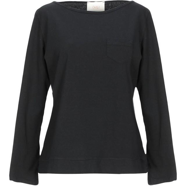 《セール開催中》CHILI レディース T シャツ ブラック one size コットン 100%