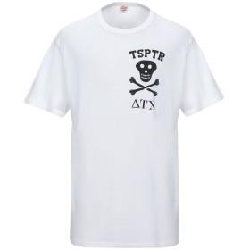 《セール開催中》TSPTR メンズ T シャツ ホワイト XL コットン 100%