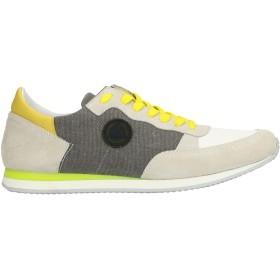《セール開催中》MANUEL RITZ メンズ スニーカー&テニスシューズ(ローカット) ライトグレー 42 紡績繊維 / 革