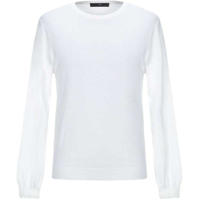 《セール開催中》DANIELE ALESSANDRINI メンズ プルオーバー ホワイト 50 コットン 100%