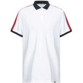 《セール開催中》SEVENTY SERGIO TEGON メンズ ポロシャツ ホワイト XXL コットン 92% / ポリウレタン 8%