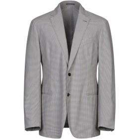 《セール開催中》PIOMBO メンズ テーラードジャケット ココア 52 コットン 100%