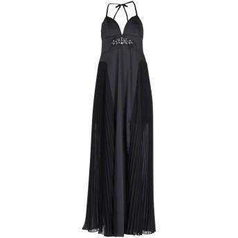 《セール開催中》KOCCA レディース ロングワンピース&ドレス ブラック XS ポリエステル 100%