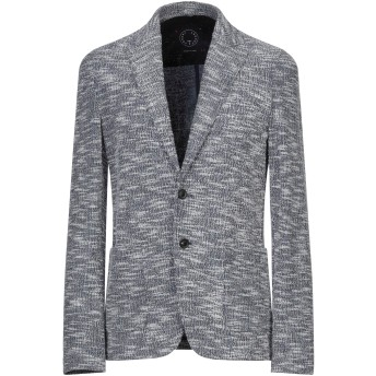 《セール開催中》T-JACKET by TONELLO メンズ テーラードジャケット ブルー S コットン 62% / ポリエステル 30% / ナイロン 6% / ポリウレタン 2%