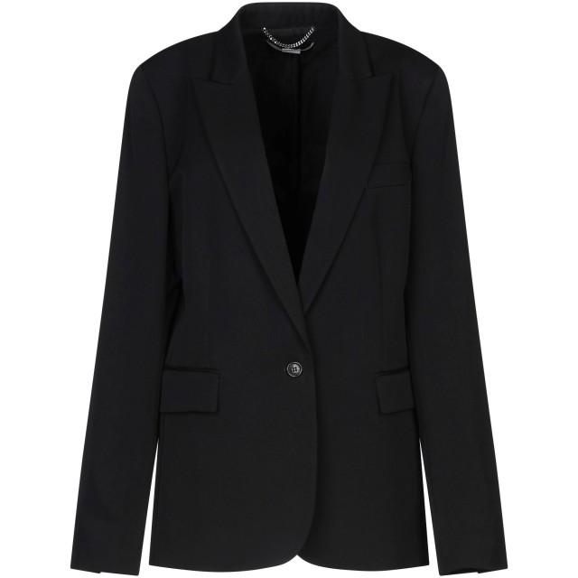 《セール開催中》STELLA McCARTNEY レディース テーラードジャケット ブラック 46 ウール 100%