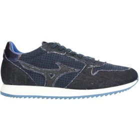 《セール開催中》MIZUNO メンズ スニーカー&テニスシューズ(ローカット) ダークブルー 11.5 紡績繊維 / 革