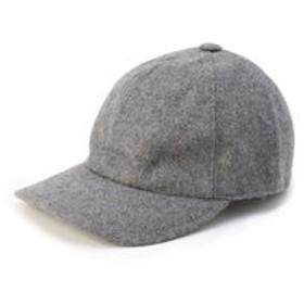 【SHIPS:帽子】GLILLO: ウール ソリッド ベースボールキャップ